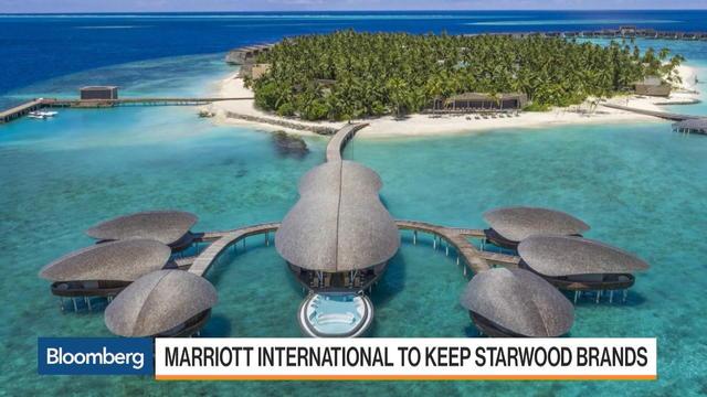 Marriott & Starwood Luxury Brands Travel Personas – Bloomberg