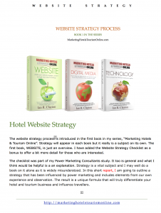 Website Strategy Process and Implenetation Report