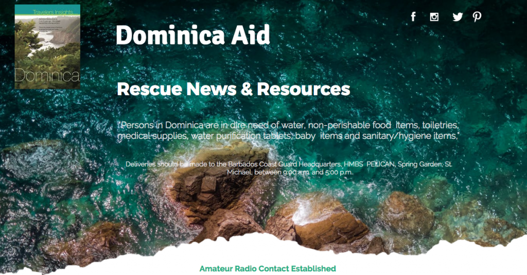 aid dominica information website