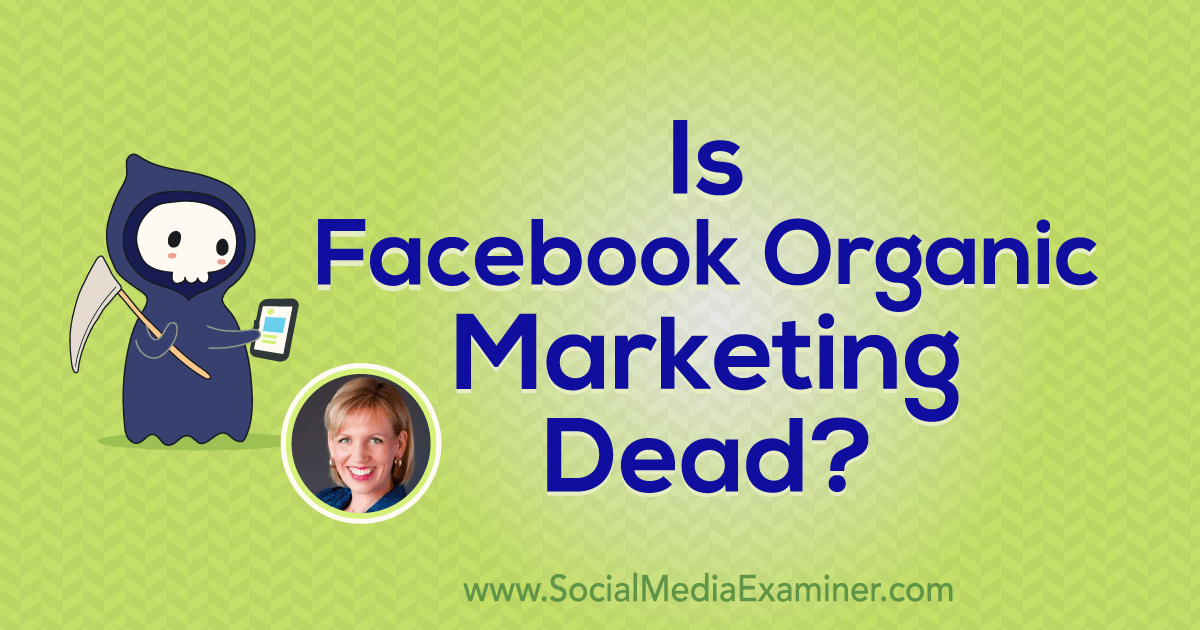 are orgain post dead on facebook