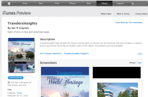 iPad Mag in iTunes Store: TravellersInsights