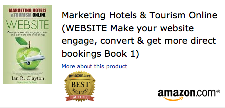 #1 Amazon Bestseller Website is first in the series on hotel and tourism marketing